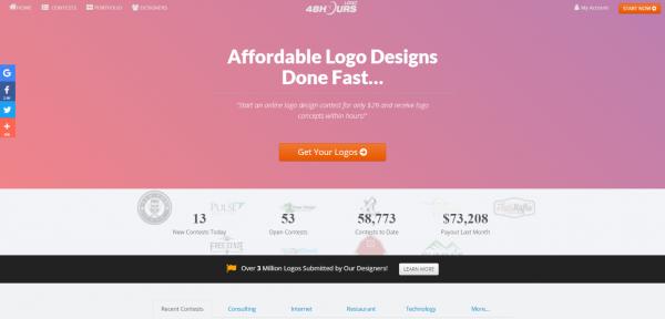 48 hours logo maker